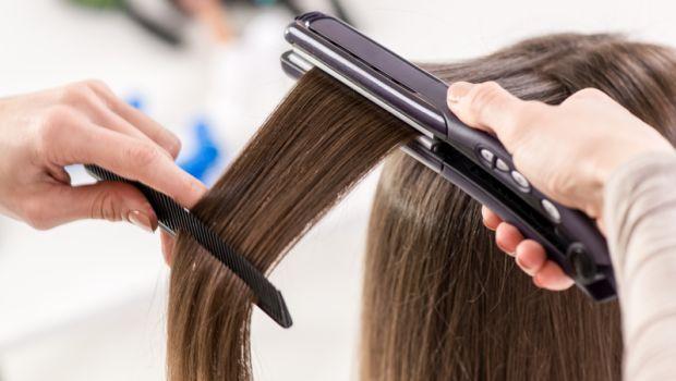 روش صاف کردن موی فر