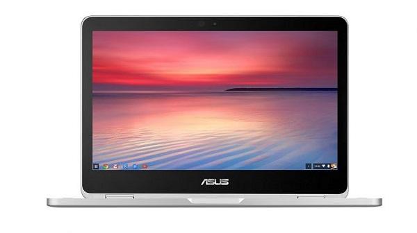 بهترین لپ تاپ های نویسندگی : ایسوس کروم بوک فلیپ (Asus Chromebook Flip)