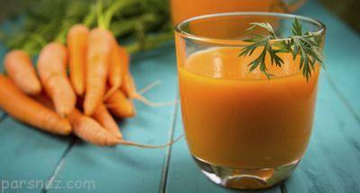 خواص خوردن آب هویج در بارداری