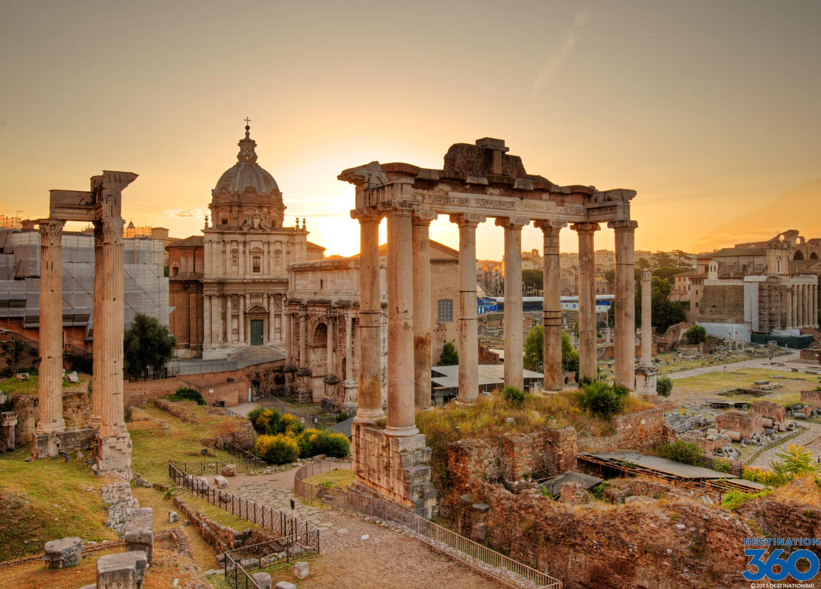 تالار رومی ها Roman Forum