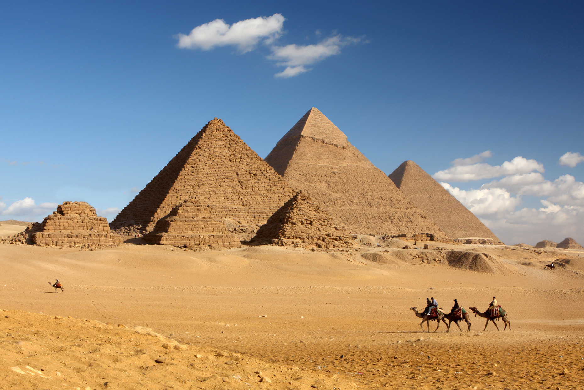 اهرام مصر The Pyramids at Giza