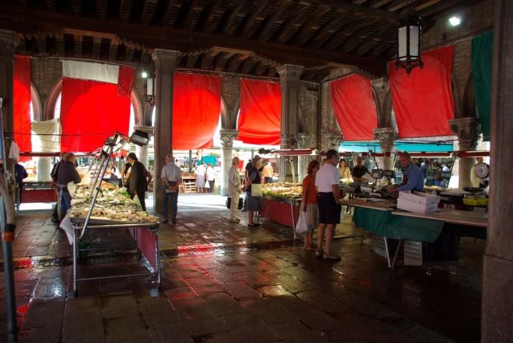 بازار ماهی ونیز