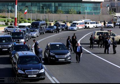 جزئیاتی از اسکورت جالب توجه ولادمیر پوتین در تهران