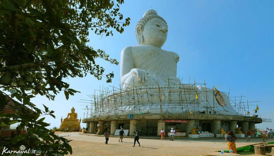 عرشه بازدید از مجسمه بودای بزرگ پوکت