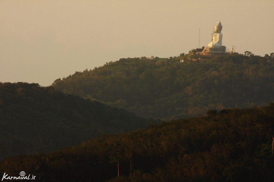 طبیعت اطراف مجسمه بزرگ بودا در پوکت