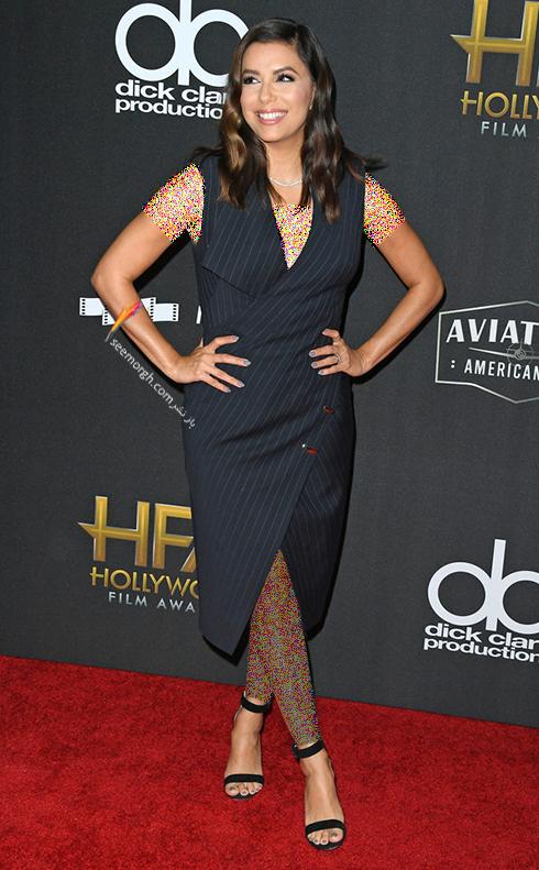 مدل لباس اوا لانگوریا Eva Langoria در جوایز فیلم هالیوود hollywood film awards 2017
