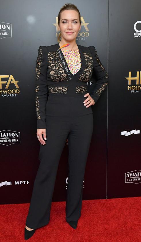 مدل لباس کیت وینسلت kate winslet در جوایز فیلم هالیوود hollywood film awards 2017