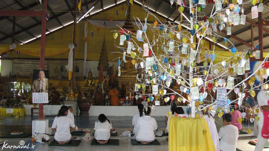 مدیتیشن و پرستش بودا