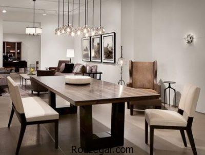 اتاق ناهارخوری، چیدمان اتاق ناهارخوری، اتاق ناهارخوری مدرن