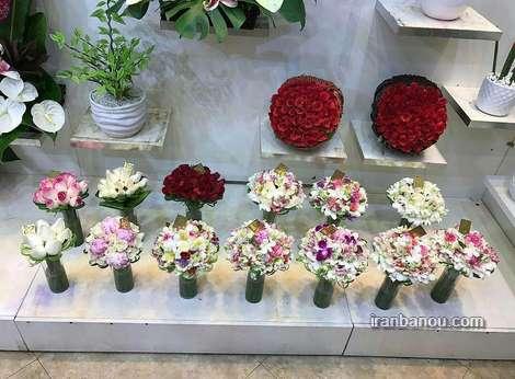 قیمت گل ماشین عروس