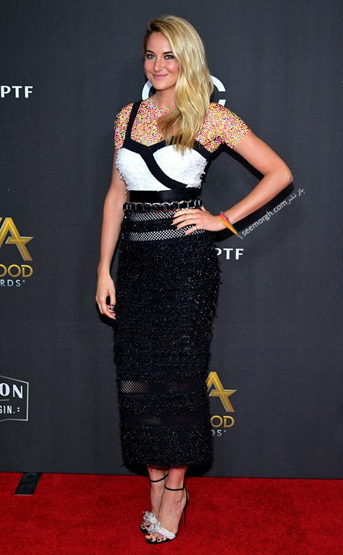 مدل لباس Shailene Woodley در جوایز فیلم هالیوود hollywood film awards 2017