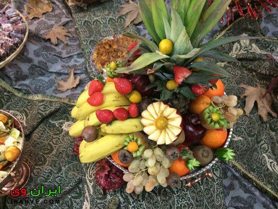 درست کردن سب میوه با موز و آناناس و انار و هندوانه