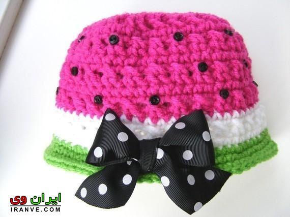 کلاه پاپیون داره خوشگل دخترانه