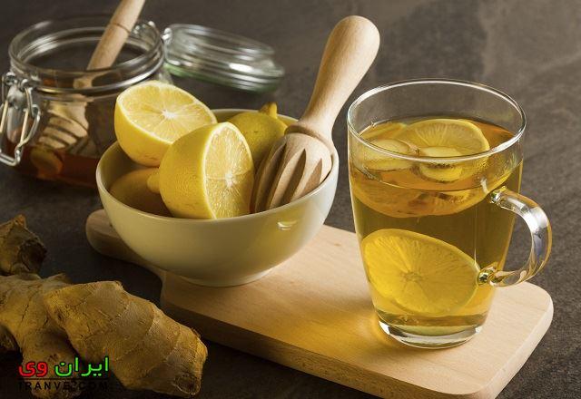 درمان خانگی سرماخوردگی با خوردن عسل و لیمو