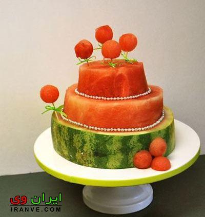 تزیین هندوانه شب یلدا (22)