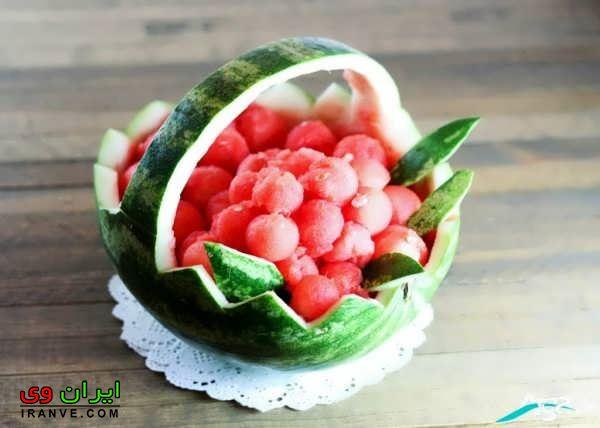 تزیین هندوانه شب یلدا (30)