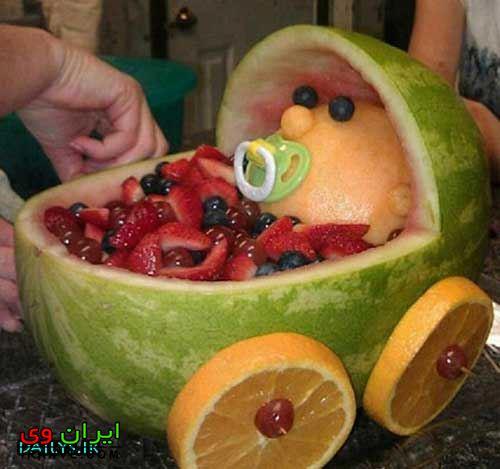 تزیین هندوانه شب یلدا (35)