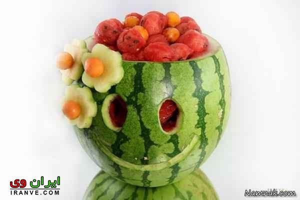 تزیین هندوانه شب یلدا (44)