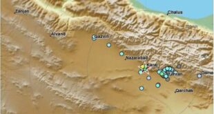 وقوع زلزله در تهران قم کرج