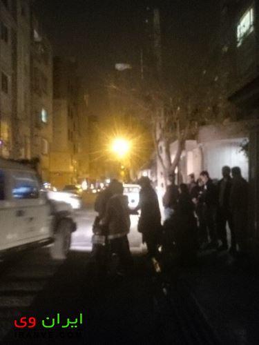 با زلزله 5 ریشتری مردم تهران به خیابان بیرون آمدن