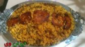 طرز تهیه لوبیا پلو با گوشت