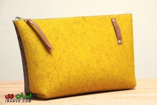 کیف لوازم آرایش نمدی زنانه , جدیدترین مدل کیف آرایش نمدی دخترانه
