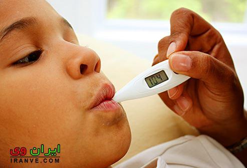 چطور تب کودکان را درمان کنیم؟