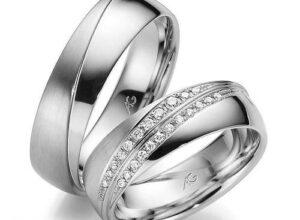 حلقه ازدواج ست عروس و داماد برای زوجهای جوان 2018-2019