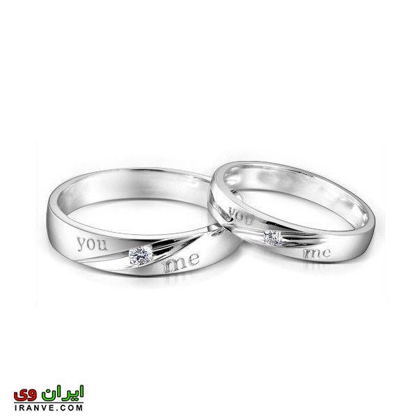 رینگ ساده ست برای عروس و داماد