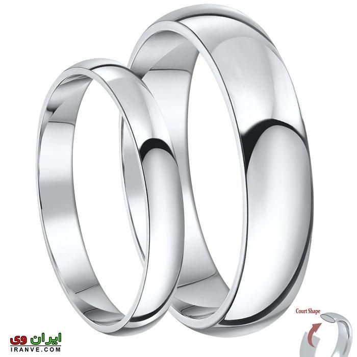 رینگ حلقه ازدواج ست بسیار ساده
