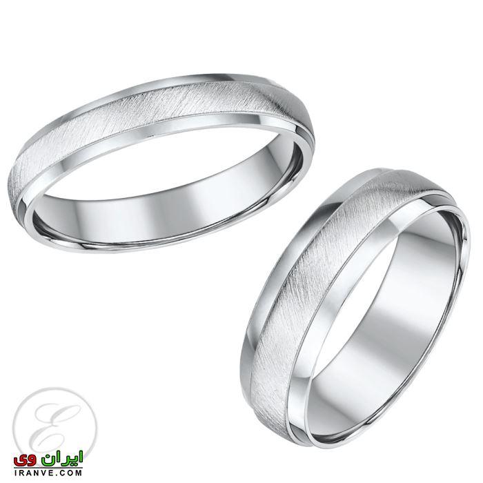 حلقه ازدواج ست نقره ارزان قیمت