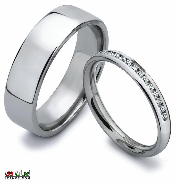 عکس حلقه ازدواج ست 2018 در انواع مدل