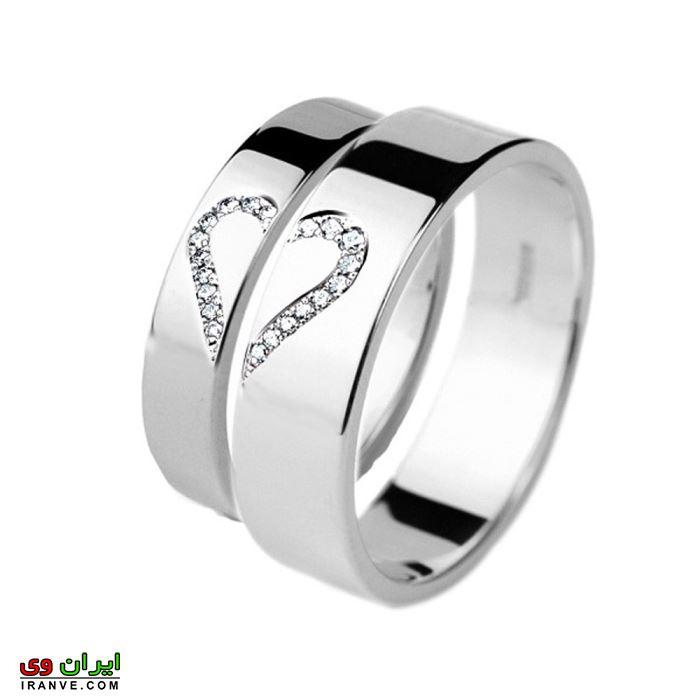 زیباترین مدل حلقه های ازدواج ساده و شیک
