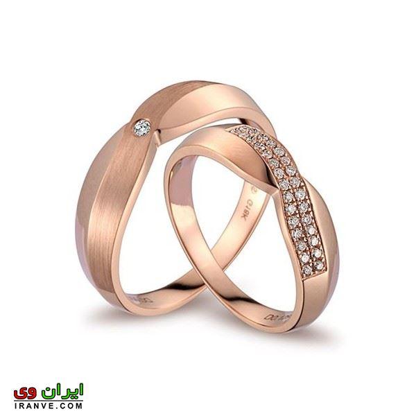 مدل حلقه ازدواج جدید شیک