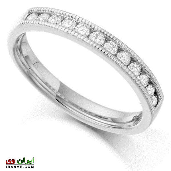 انواع مدلهای حلقه ازدواج عروس