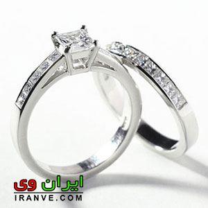 مدل حلقه ازدواج بسیار شیک