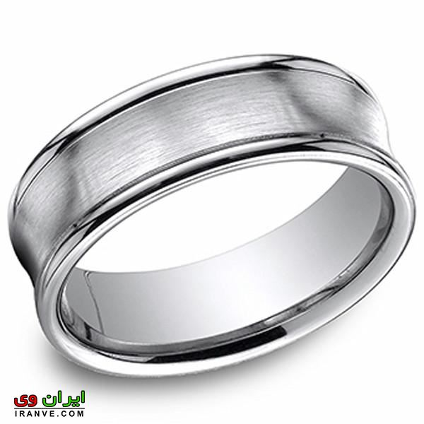 عکس حلقه ازدواج ساده و ارزان قیمت