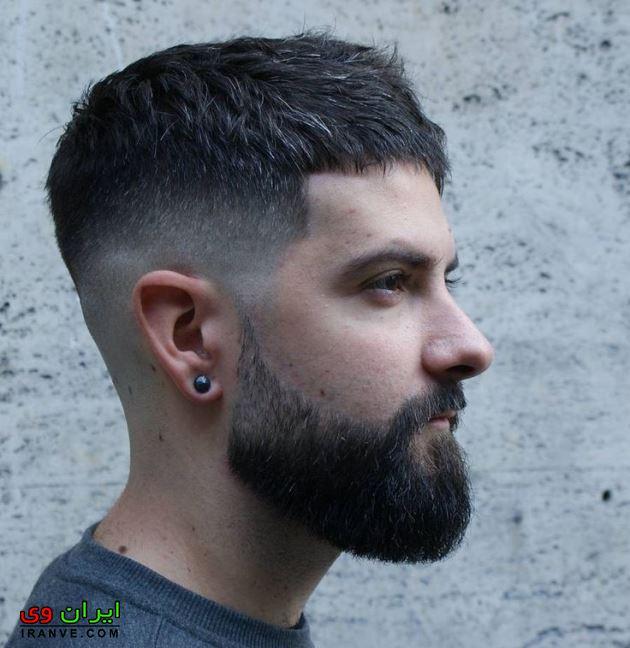 مدل مو پسرانه صورت کشیده