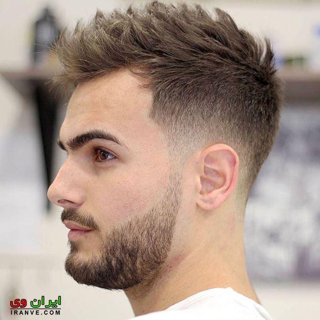 مدل مو پسرانه صورت دراز