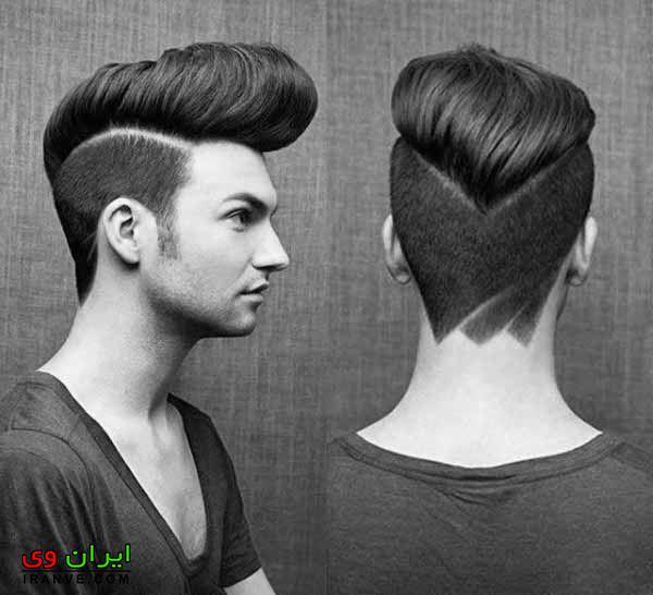 مدل مو پسرانه صورت گرد