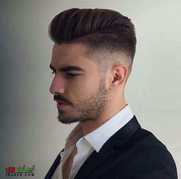 مدل مو مردانه صورت کشیده