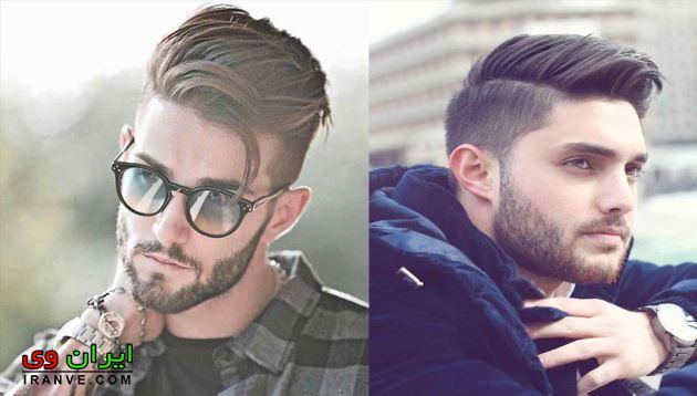 مدل مو مردانه صورت لاغر