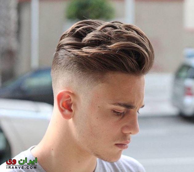 مدل موی پسرانه قارچی