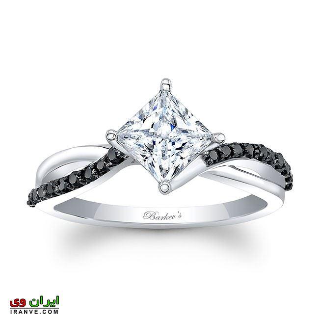 حلقه فوق لاکچری بسیار گران قیمت محصول یکی از برترین کمپانی ساخت حلقه دنیا