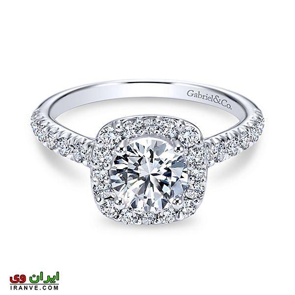 زیباترین نگین های برلیان حلقه های نامزدی و ازدواج بسیار لوکس و لاکچری