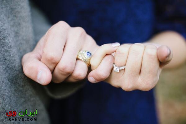 زیباترین مدل حلقه ازدواج در دست