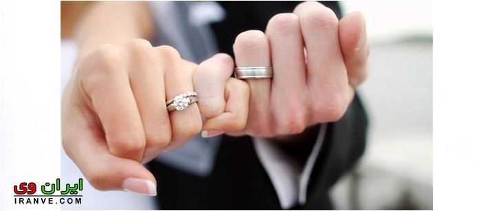 تصاویر حلقه نامزدی و ازدواج در دست عاشقانه