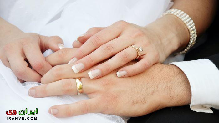 انواع مدل حلقه نامزدی و ازدواج بسیار شیک در دست