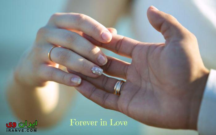 تصاویر حلقه ازدواج در دست