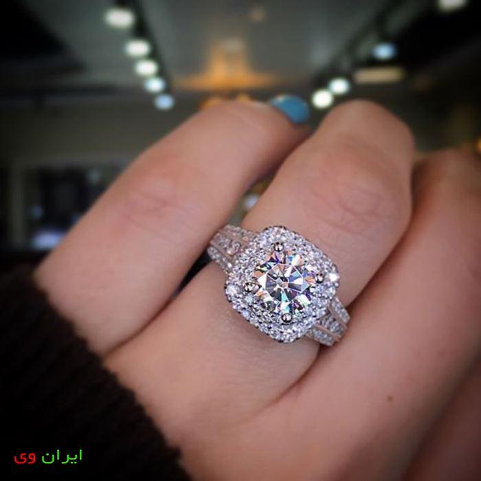 عکس حلقه های ازدواج در دست